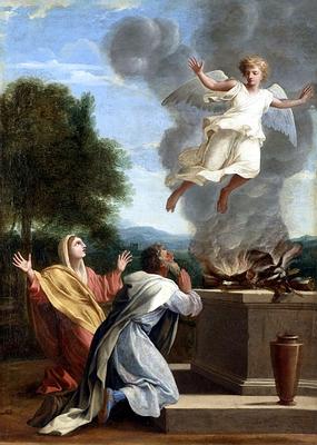 Manoah's wife's barrenness